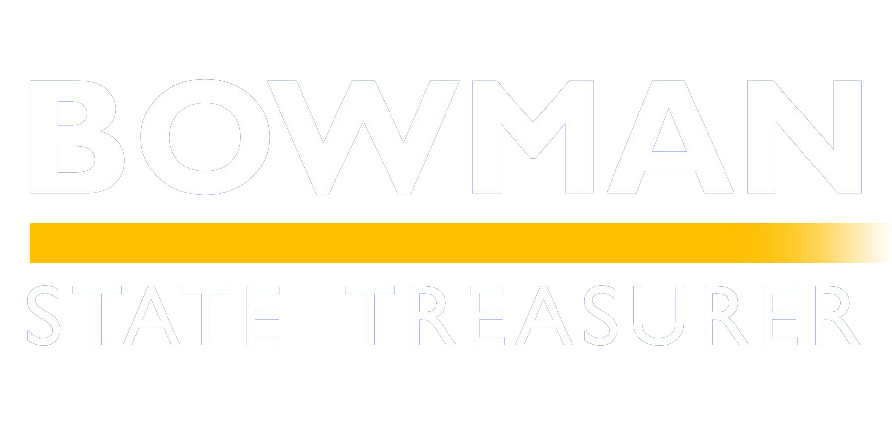 MICHAEL BOWMAN FOR state treasurer